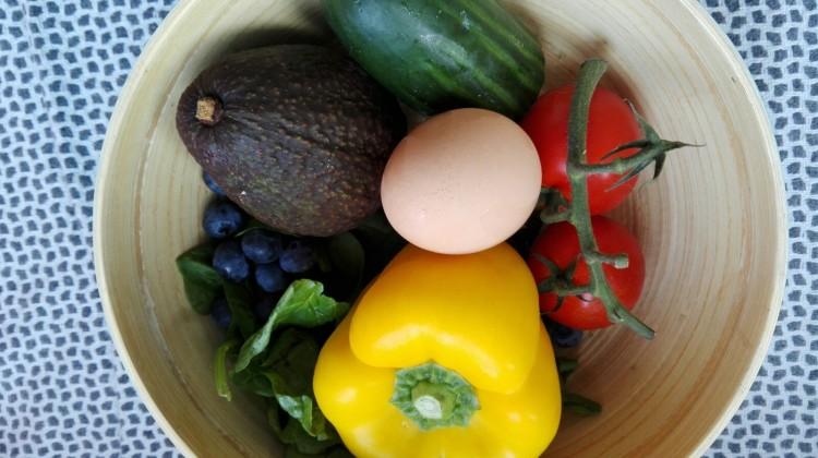 IIN - rainbow salad ingredients