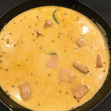 Jackfruit Curry Cooking